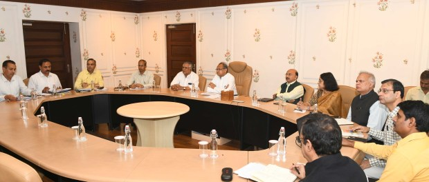 Chief Minister Shri Ashok Gehlot approved the memorandum