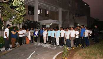 Officials participated fiercely in run-for RIPA, clean RIPA campaign and cricket competitions