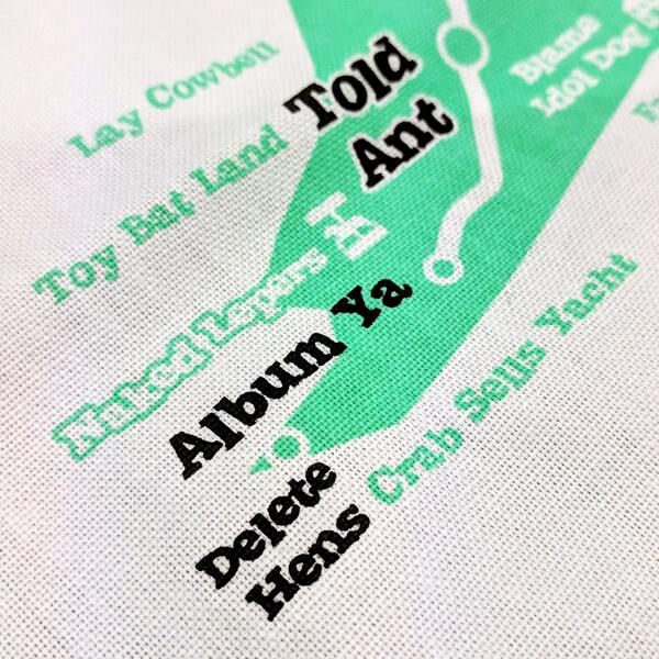'Lies of Wight' tea towel