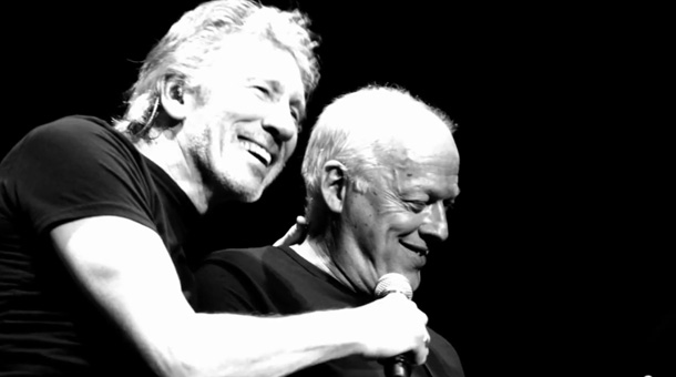 Image result for david gilmour roger waters