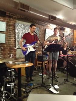 Gilad, Ryan, and Natalie at the PFC Small World Jam