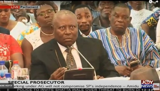 Martin Amidu is the Special Prosecutor