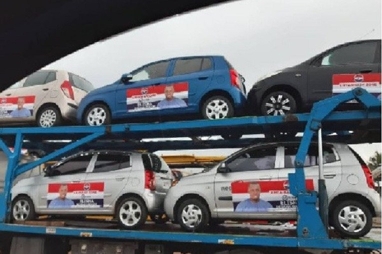 Defeated NPP candidate takes back cars he promised to donate to party