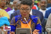 Mrs Ursula Owusu-Ekuful is the Communications Minister