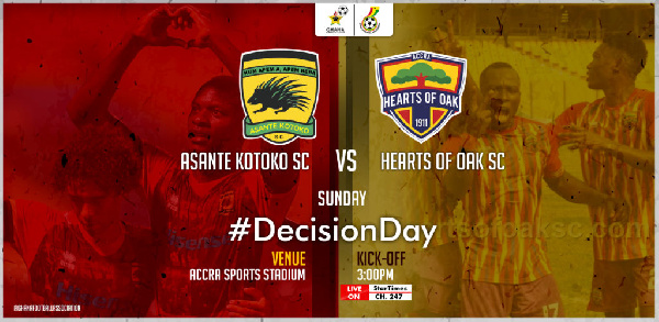 GFA outlines modalities for Asante Kotoko and Hearts of Oak clash