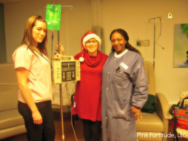 breast cancer chemo infusion