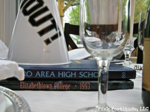 Graduation Table Decorations by coconutheadsurvivalguide.com