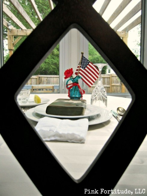 POW MIA Missing Man Table Setting by coconutheadsurvivalguide.com