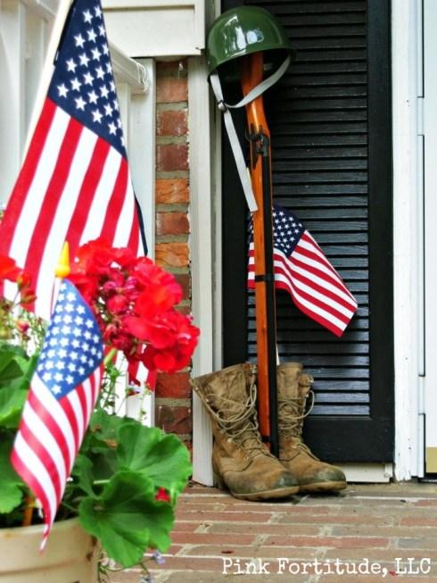 Patriotic Memorial Day Decorations by coconutheadsurvivalguide.com