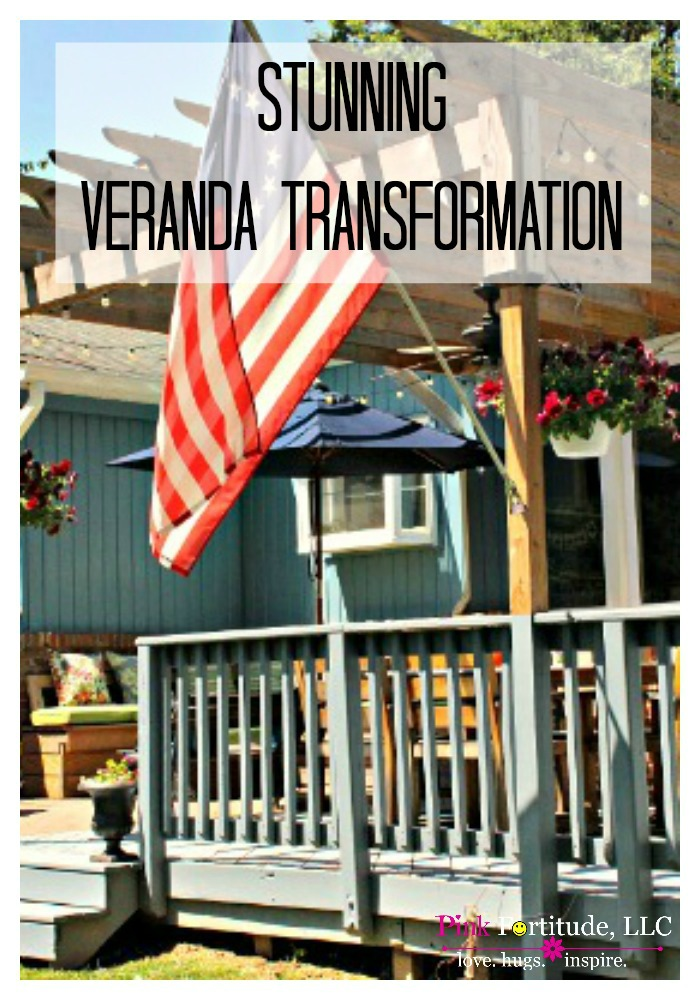 It used to be an old, sad deck. This stunning veranda transformation will leave you speechless. And the pergola is the star of the show. You must see the before and after pictures to believe it!