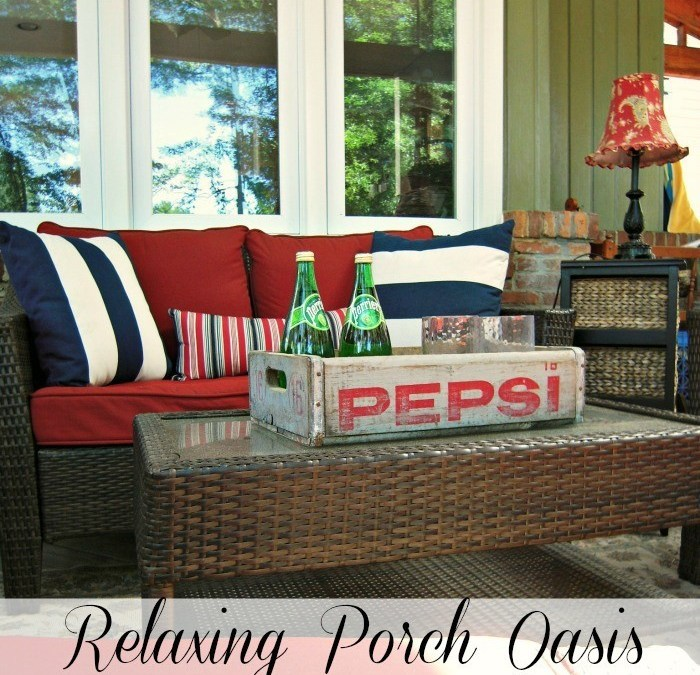 Relaxing Porch Oasis