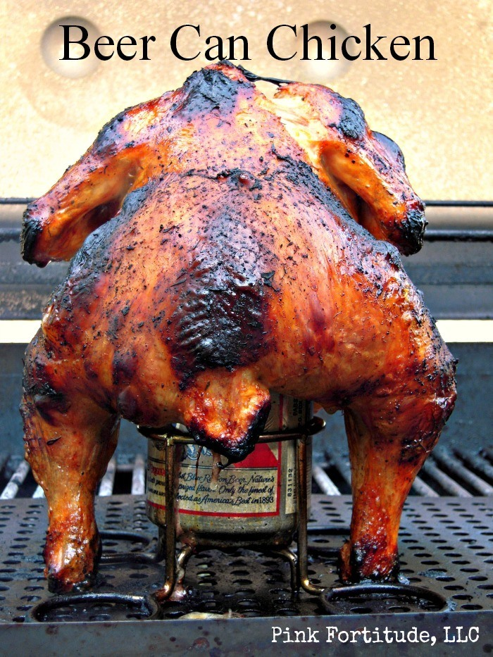 You can call it Beer Can Chicken, Beer Butt Chicken, or Redneck Chicken. Nothing screams summer like shoving a can of Bud up a dead bird's keester, throwing it on the grill and calling it dinner. Just sayin'.