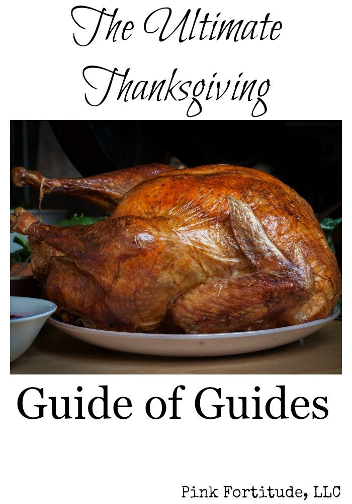 This isn't just the ultimate Thanksgiving guide, it is the ultimate Thanksgiving guide of guides. I have collected five of the best guides from the most trusted sources for everything you need for your Thanksgiving dinner… all in one place. If you are hosting, no need to worry, the answer to whatever question you have is somewhere in here!