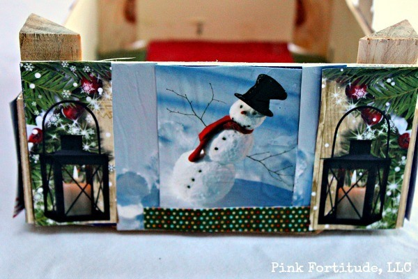 Recycle Old Christmas Cards With A Cutie Crate Diy Pink Fortitude Llc