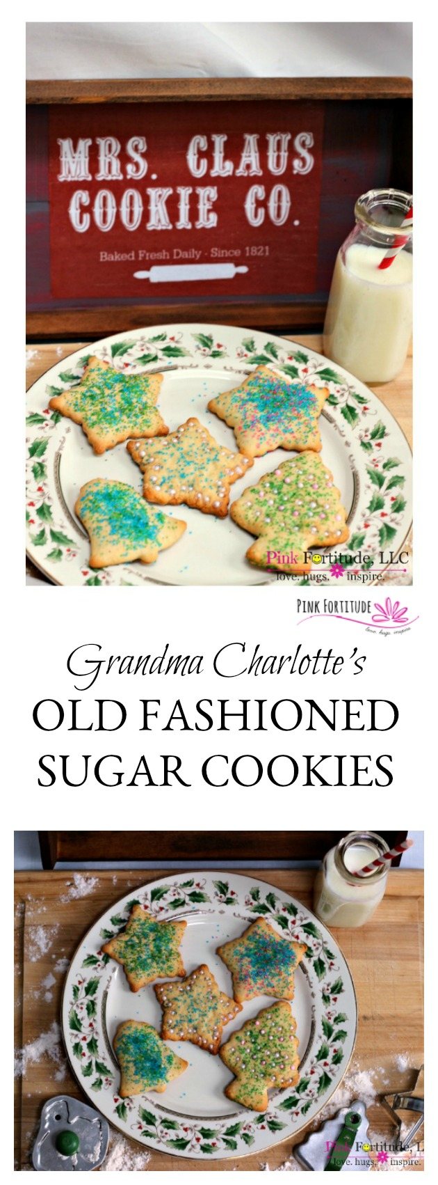 Grandma Charlotte\'s Old Fashioned Sugar Cookie Recipe - Pink ...
