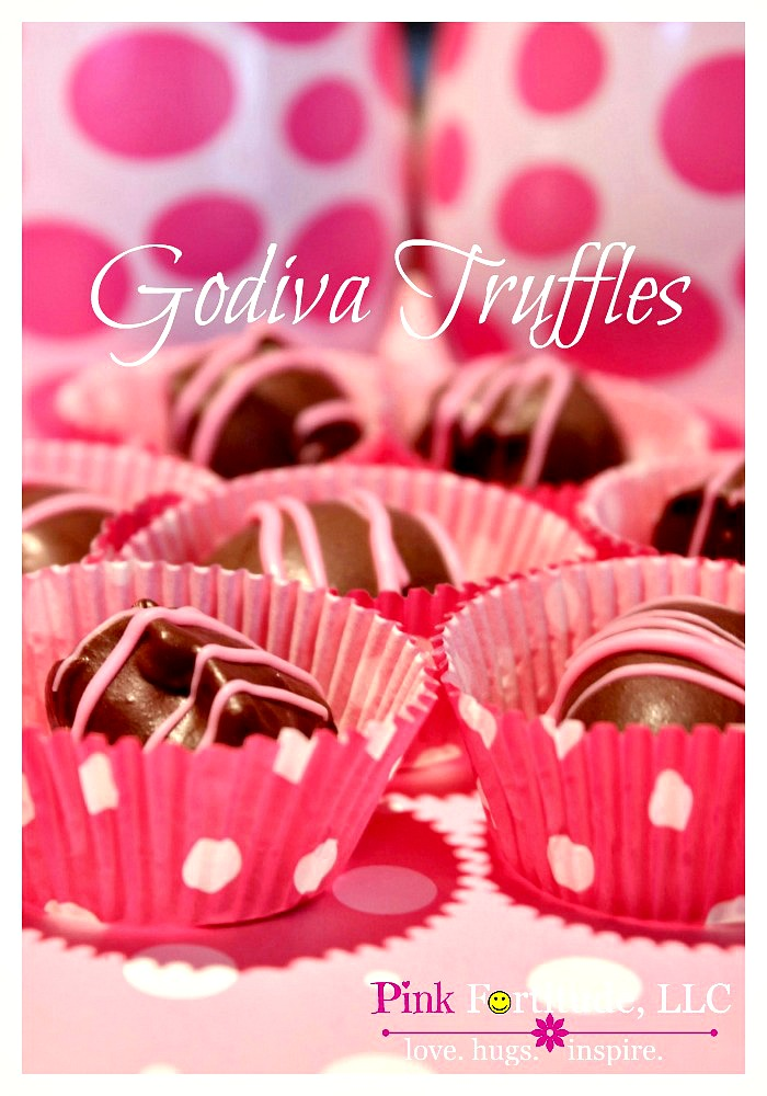 Who doesn't love Godiva chocolate on Valentines Day?!? This is the best chocolate truffle recipe out there. Trust me.