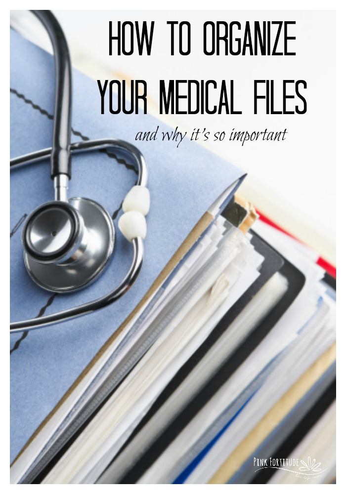 Let's face it, at some point in our lives, we will face a medical crisis, take care of a family member with a major illness, or care for elderly parents.  What do they all have in common?  Lots of paperwork.  Learn how you can organize your medical files and records to give you one less thing to worry about during this time of extensive medical care.