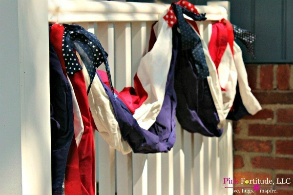All American Porch Decorations for the 4th of July