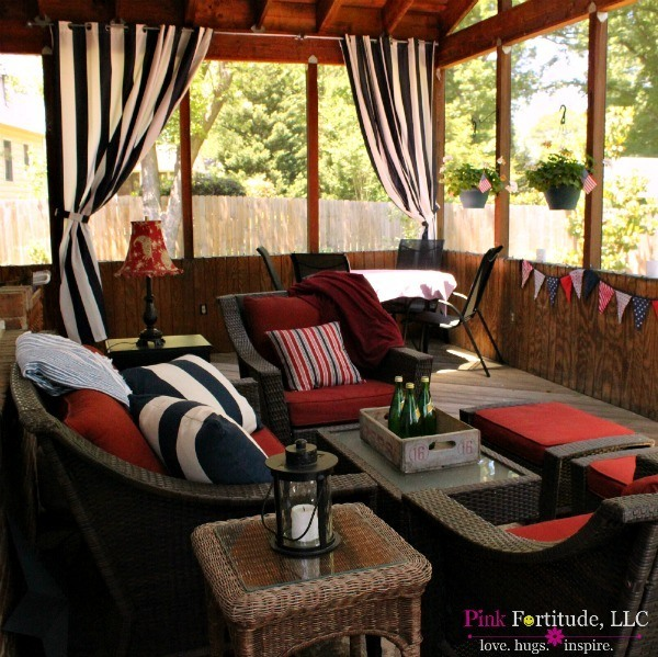 Relaxing Porch Oasis by coconutheadsurvivalguide.com