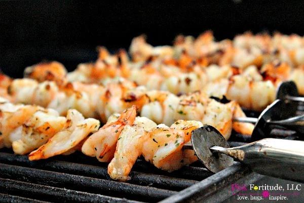 Shrimp on the Barbie recipe by coconutheadsurvivalguide.com