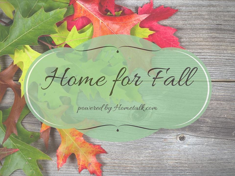 Home for Fall - Hometalk Fall Tour with coconutheadsurvivalguide.com
