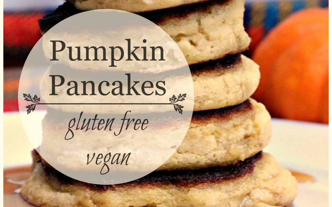 Pumpkin Pancakes – Gluten Free & Vegan
