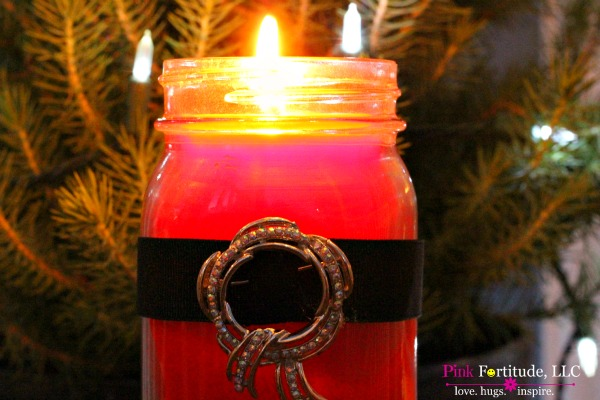 Santa Candle 6