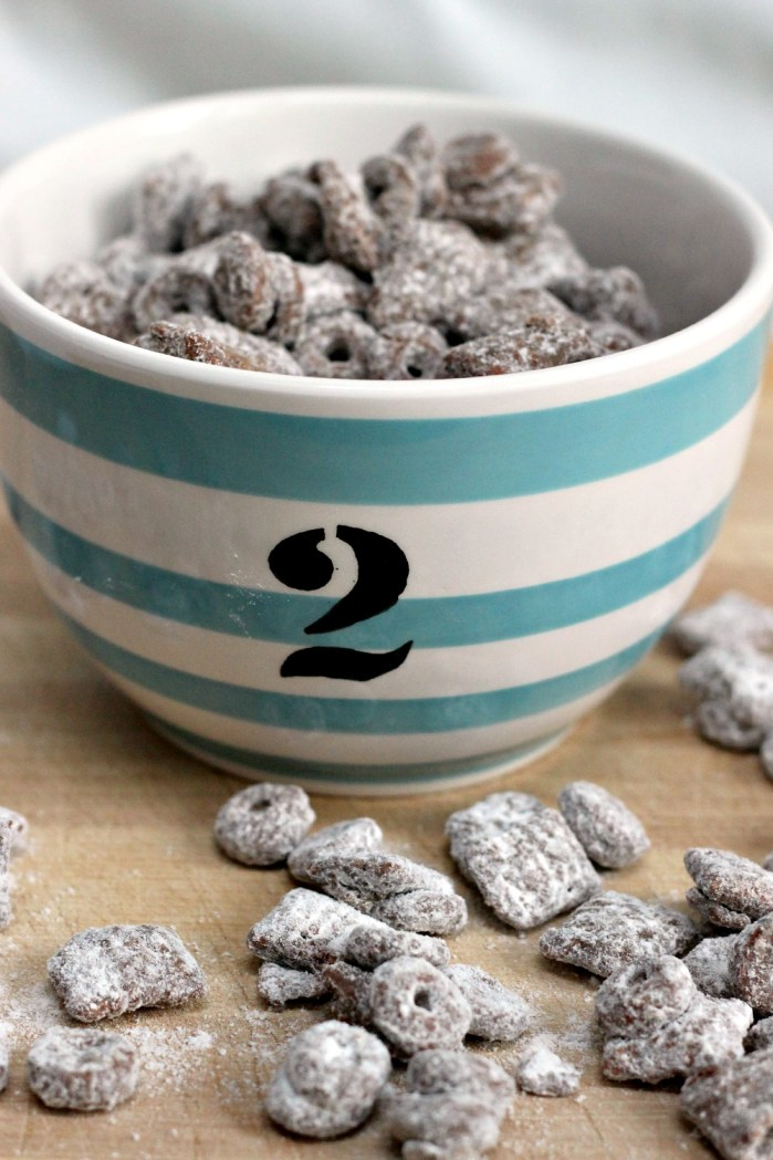 Whether you call it Puppy Chow or Muddy Buddies, the sweet combination of chocolate, peanut butter, and powdered sugar is like heaven in a bowl. And then you grow up. Or can't eat half of the ingredients. This is the grown up and allergy friendly version - gluten free, vegan, peanut free, and no extra sugar. Much easier on the waistline!
