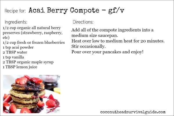 Acai Berry Compote