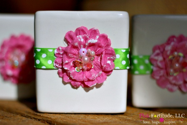 flower candle 10