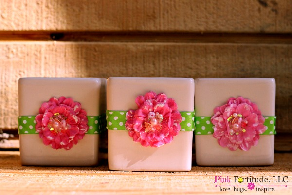 flower candle 7