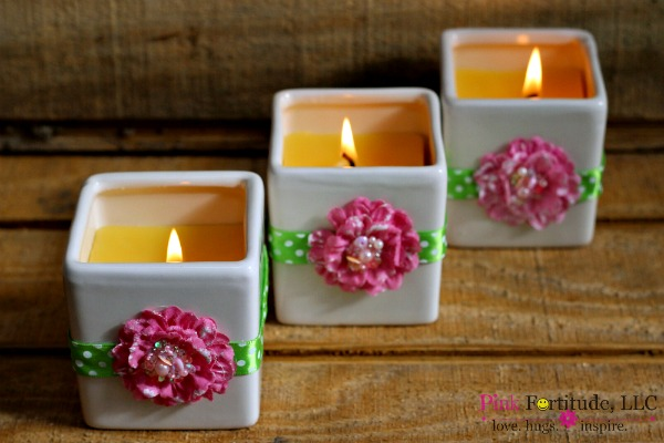 flower candle 8