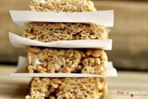 Rice Krispies Treats – Gluten Free & Vegan