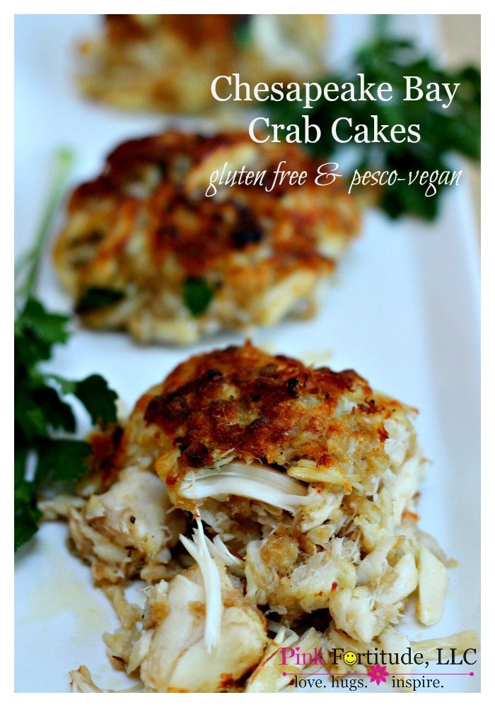 Growing up, crab cakes were the ultimate treat. But they HAD to be Chesapeake Bay style. My goal was to still be able to enjoy them, even with some dietary restrictions. These crab cakes are gluten free, dairy free, and egg free. Mission accomplished!