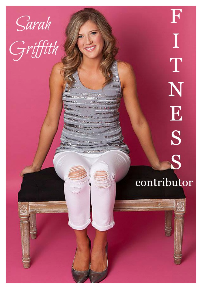 I am so excited to introduce you to Sarah Griffith, who is our new Fitness Contributor. Sarah's story really resonates with me, and for her first month's article, I asked her to share her story so that you could get to know her. Her enthusiasm is infectious. I guarantee that you will fall in love with her as much as I am! Without further adieu...
