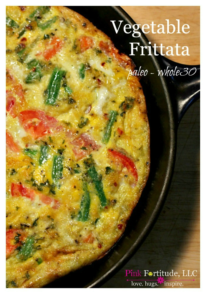 Are you looking for a quick and easy breakfast to make for a crowd? And BTW - is healthy AND paleo AND Whole30 friendly? This vegetable frittata is sure to please. It sounds and looks fancy, but it's so easy to make. Trust me!