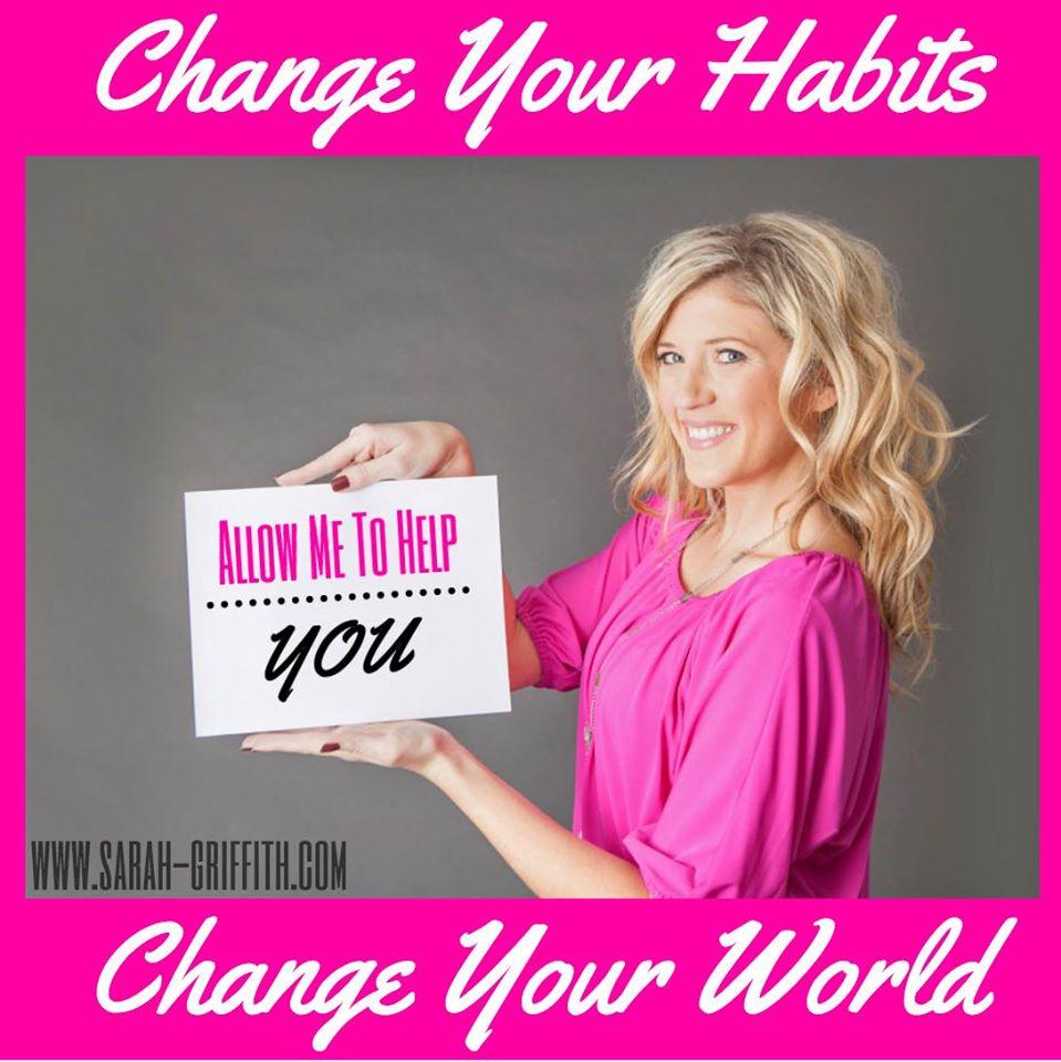 sarah change habits