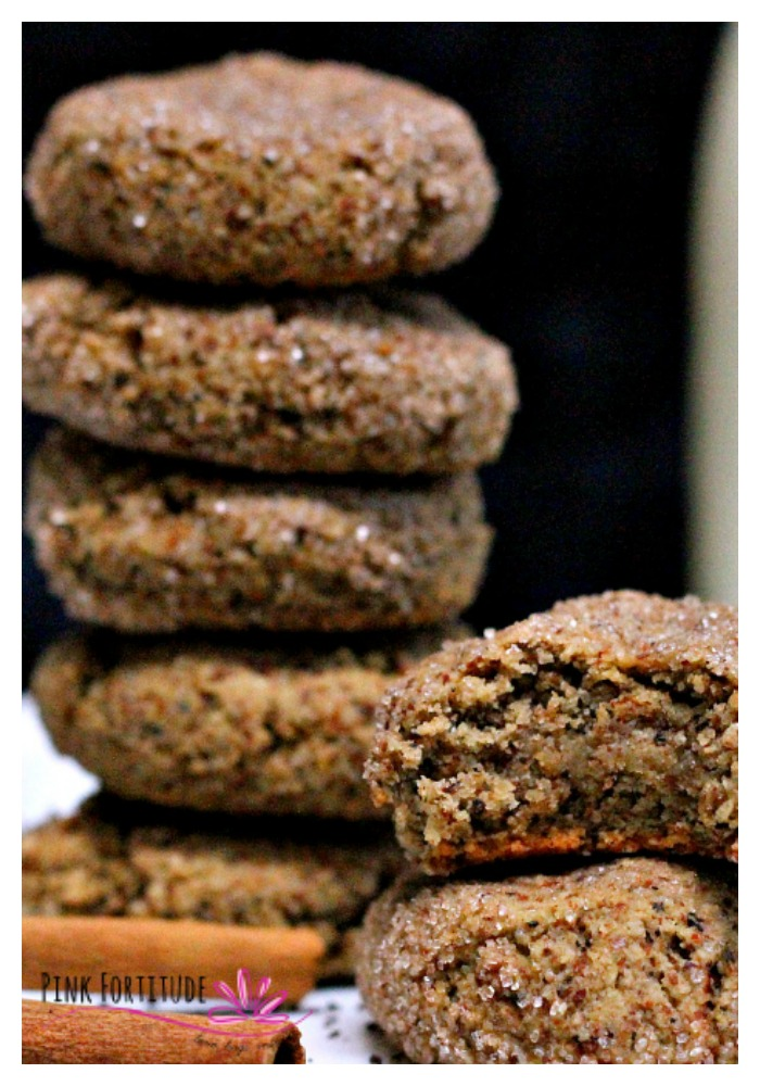 What makes a perfect snickerdoodle? Is it the chewyness? Is it the cinnamon sugar coating? Or is it the yummy flavor? I added some chai tea spices and made this version gluten free, vegan, paleo, and with minimal sugar. Wowza do these snickerdoodles have an amazing flavor! Enjoy them with some tea, a chai latte, or even as a breakfast cookie - without guilt. They are healthy for you!