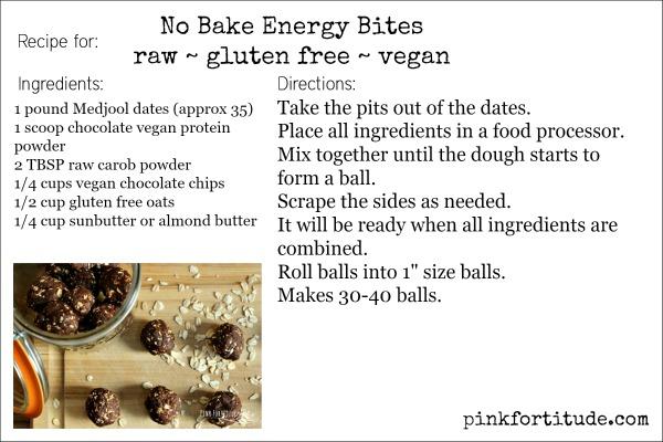 date bites recipe