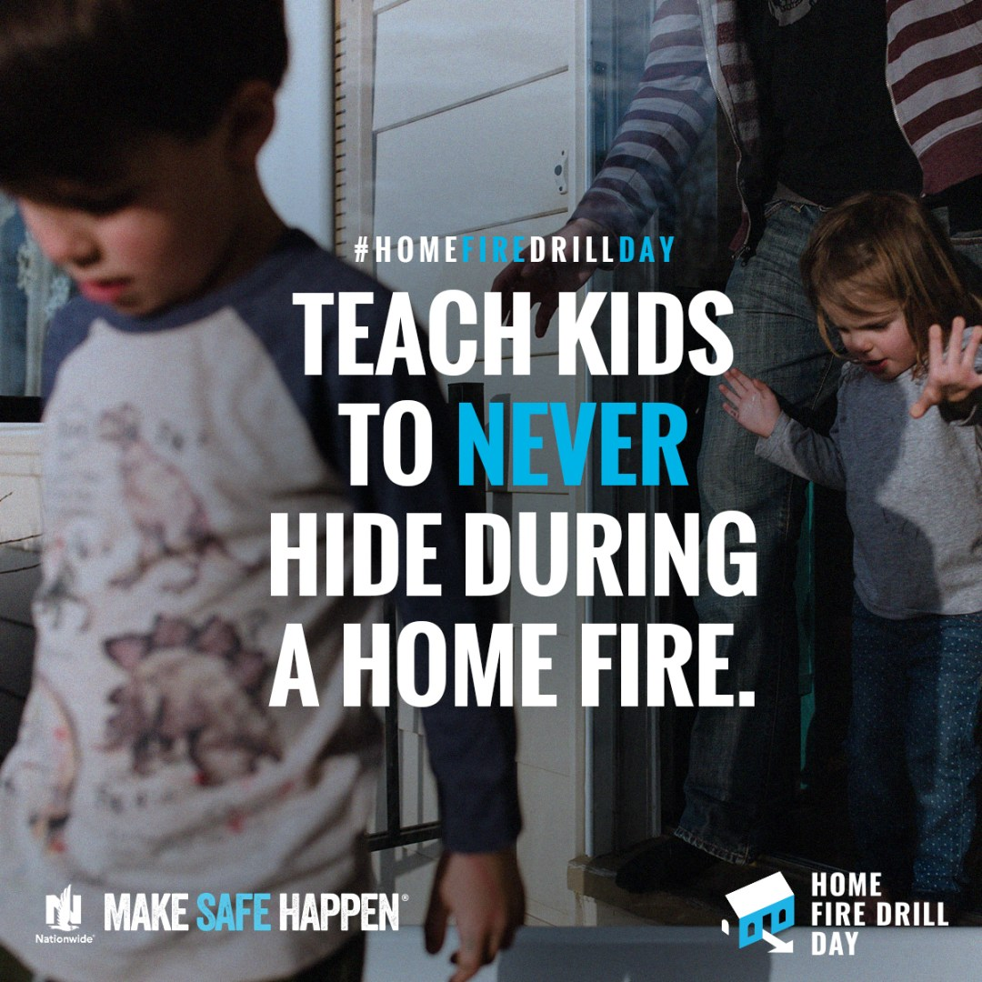 Teach kids not to hide