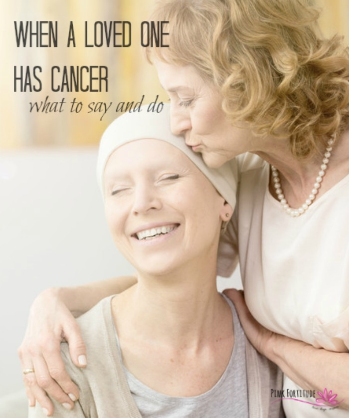 """""""Hi [insert name]. I wanted to let you know I have some bad news. I have cancer."""" From this point on... it seems like everything changes with your relationship when your loved one has cancer. But it shouldn't. What do I say? What do I do? How can I help? #cancer #breastcancer #pinkfortitude"""