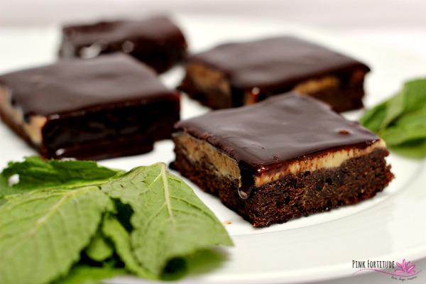 Creme de Menthe Brownies – Gluten Free, Vegan, Paleo