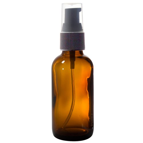 Glass Pump Bottle 2oz