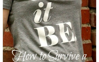 Let it Be – Surviving a Life Transition