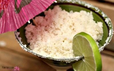 Margarita Sugar Scrub DIY