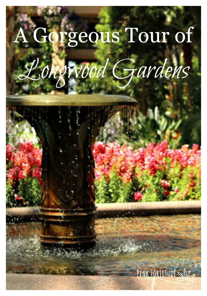 My parents and I took a road trip to Longwood Gardens in Philadelphia, PA over Mother's Day weekend. I had never been and it had been years since my parents were there. The gardens were exquisite and I'm so excited to share this beautiful tour with you!