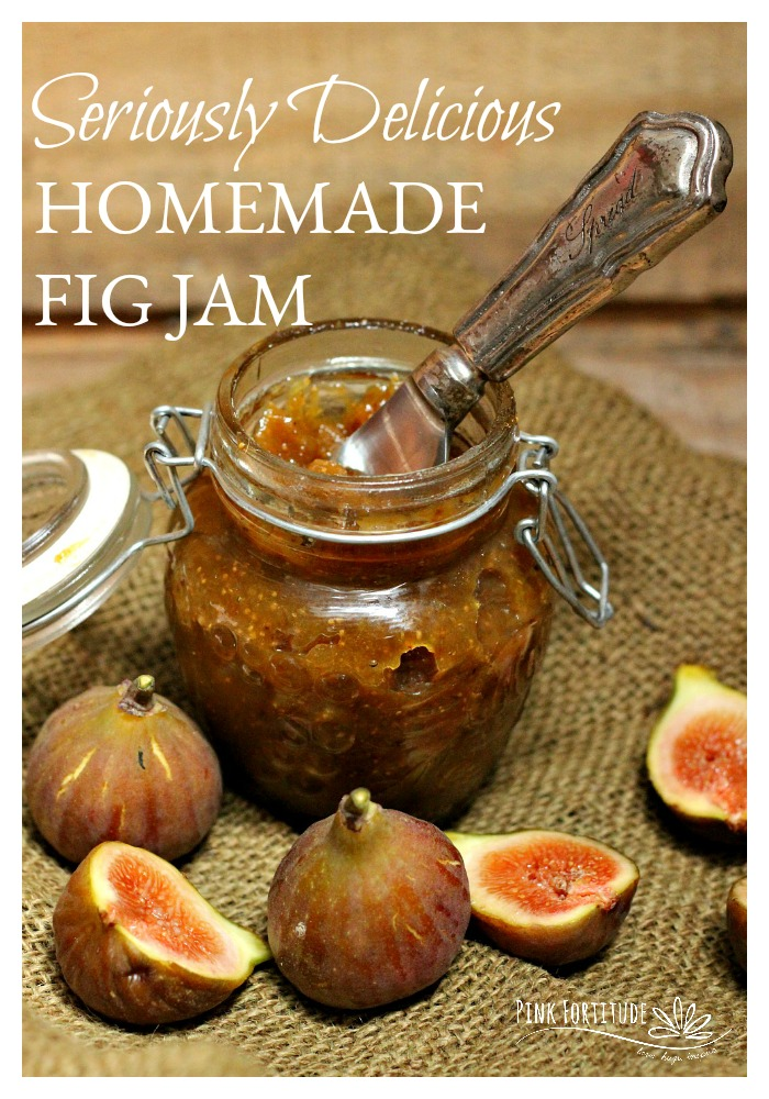 My dear neighbor gave me 20 figs from her fig tree. I knew it was time to make some fig jam! It's easy to make and full of all natural ingredients. Perfect for a farm to table (or yard to table) treat!