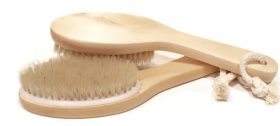 Natural Bristle Dry Brush