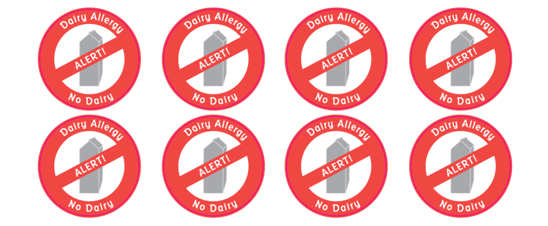 Customized Allergy Labels