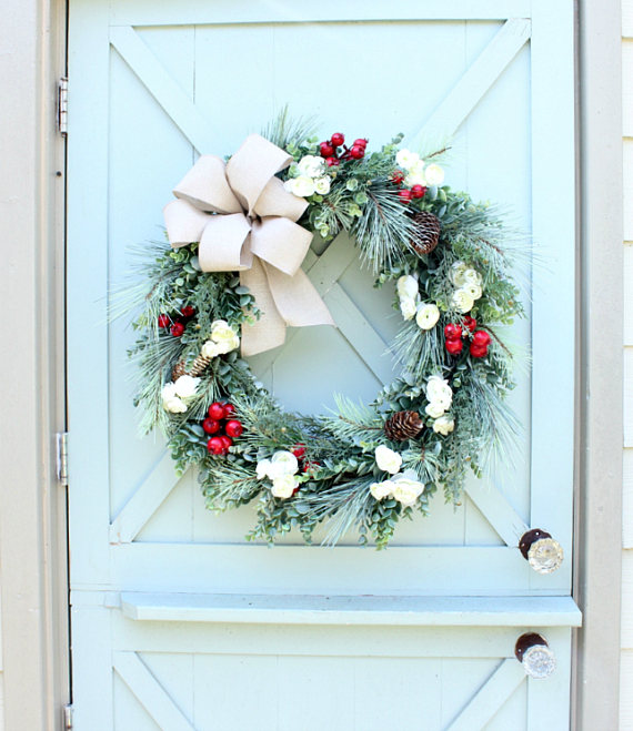 Homemade Wreaths from Daisy Mae Belle